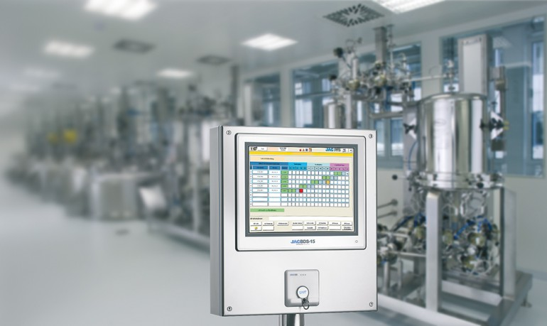 JAG PdiCS controls multi-batch processes fully automated